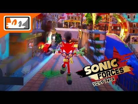 Sonic Forces E3 2017 - Custom Hero Park Avenue Gameplay (Nintendo Switch)