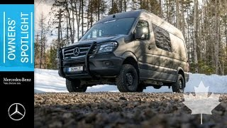 Balco Décor masters the art of landscaping with the Sprinter 4x4(For 27 years, owner Louis Têtu of Balco Décor has taken landscape design to another level, carving a name for himself in Québec City with mosaïculture art., 2016-09-15T00:28:21.000Z)