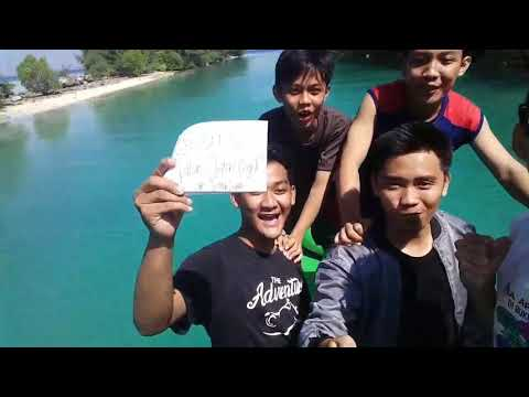 On tour semak daun island @team sebelas