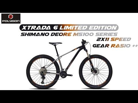 Polygon Xtrada 6 Le 2021 2x11 Speed Thrill Vanquish Elite Killer Shimano Deore M5100 Series Youtube