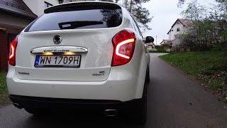 2016 SsangYong Korando 2.2 Diesel Test Drive Ciekawostki Jazda Testowa Próbna PL