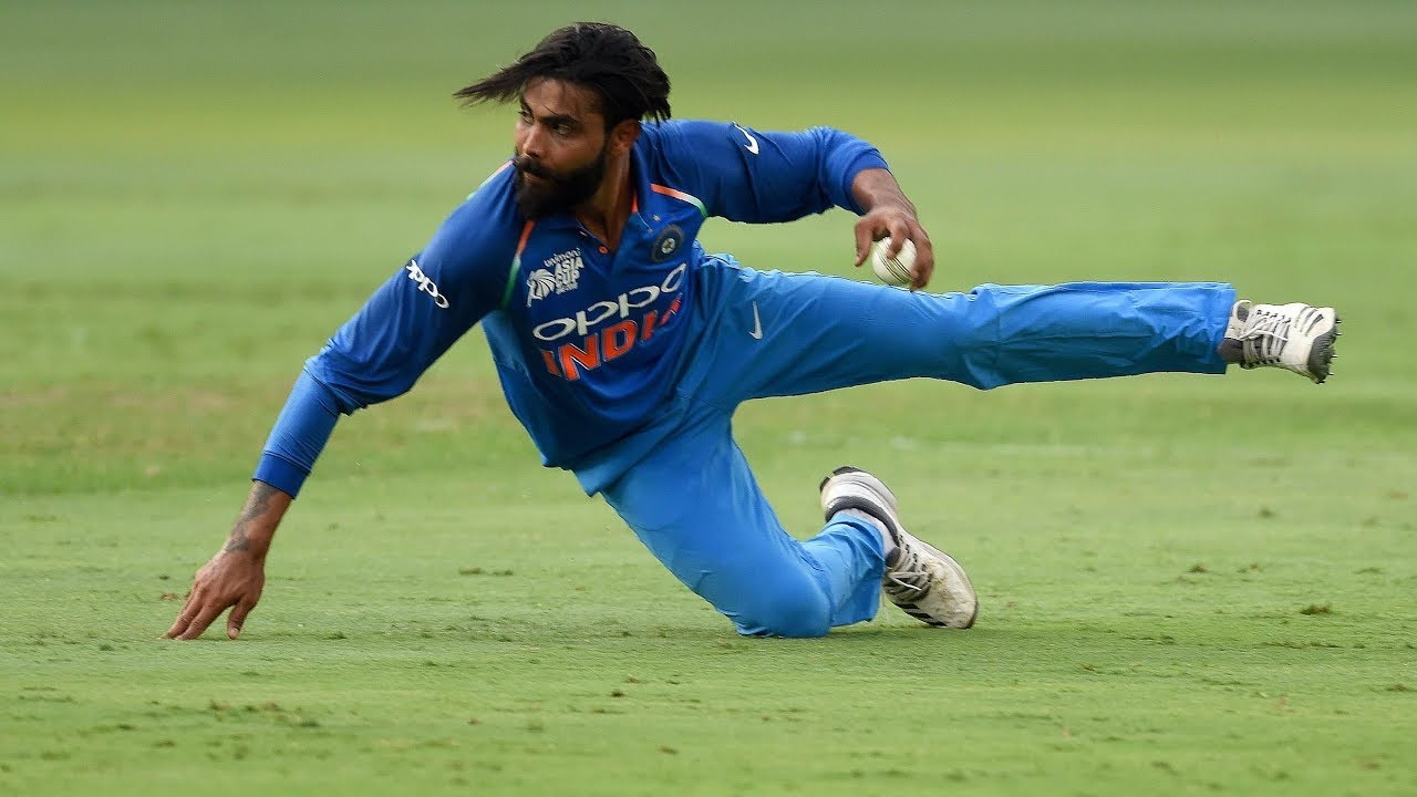 Ravindra Jadeja's fielding makes him a must-have player in the limited  overs - Ajay Jadeja - YouTube