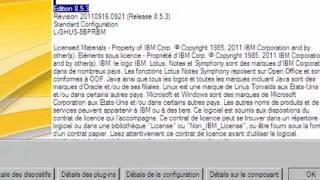 présentation IBM LOTUS NOTES 8.5.3 Français (non sonore)