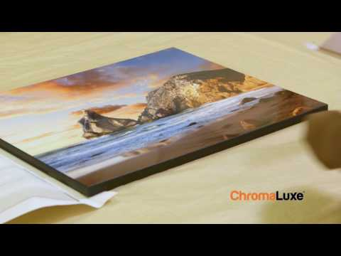 Dye Sublimation: Adding Images to ChromaLuxe Tabletops