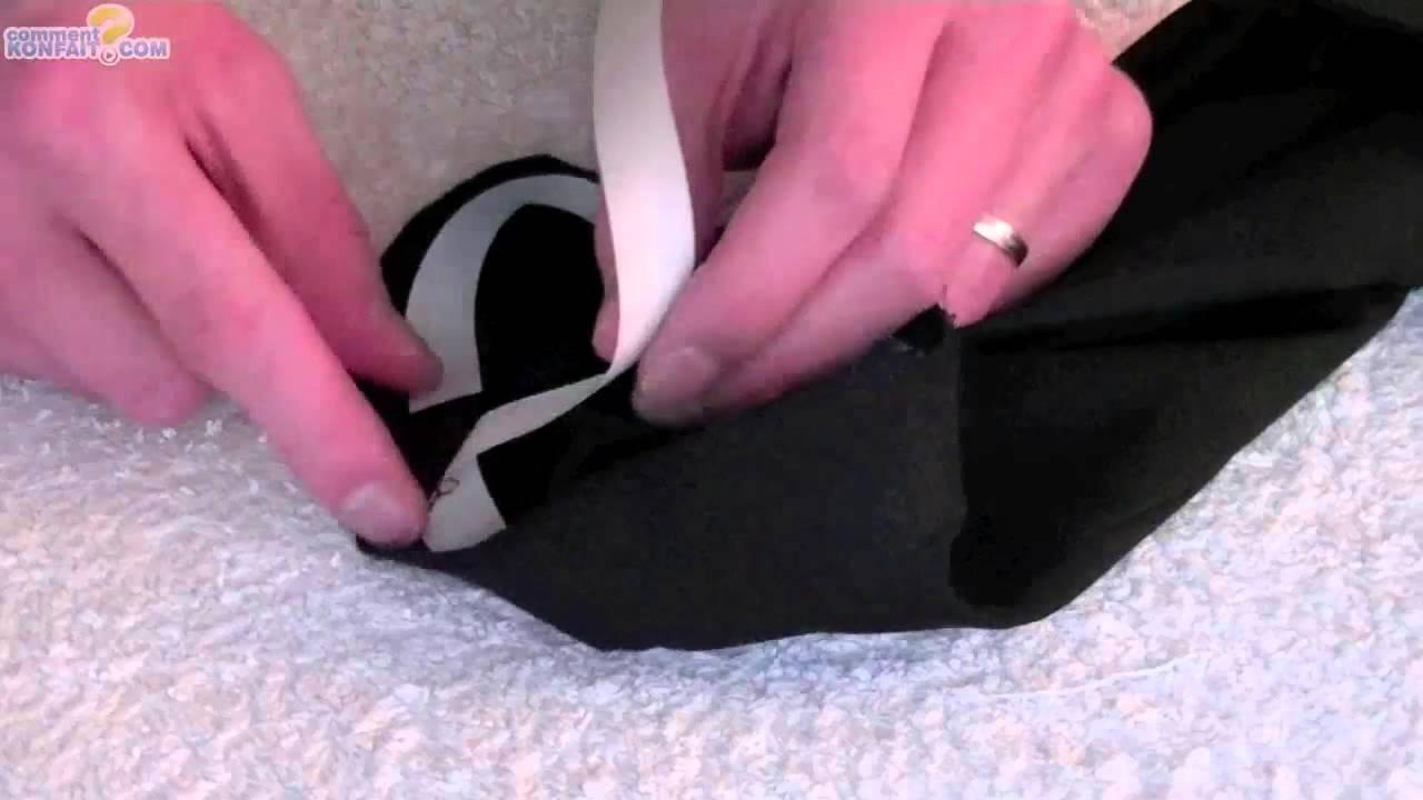 Faire un ourlet de pantalon avec bande thermocollant youtube - Faire un ourlet de pantalon ...