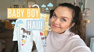 HUGE BABY HAUL - BABY BOY HAUL - NOVEMBER 2017
