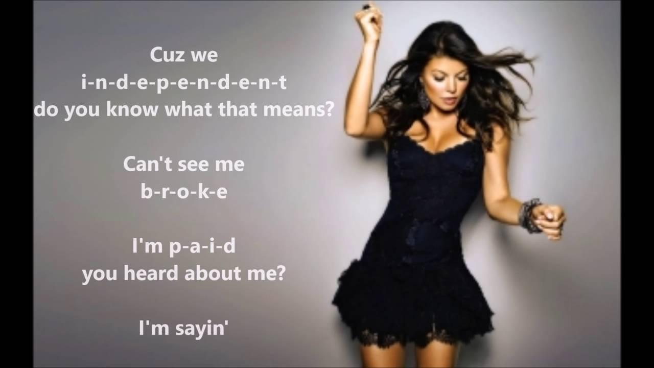 Milf Fergie Lyrics