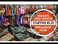 Kolkata Street Shopping Esplanade Vlog|New Market Kolkata Shopping Vlog|Parna's Beauty World