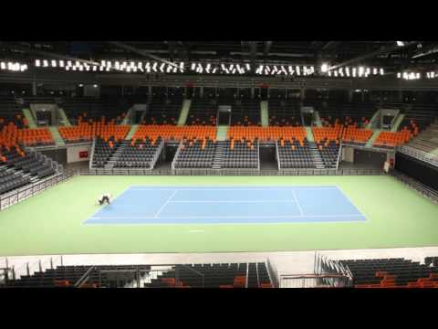 Rebound Sports Kft.  mobil keményborítás teniszpálya rendszer építés