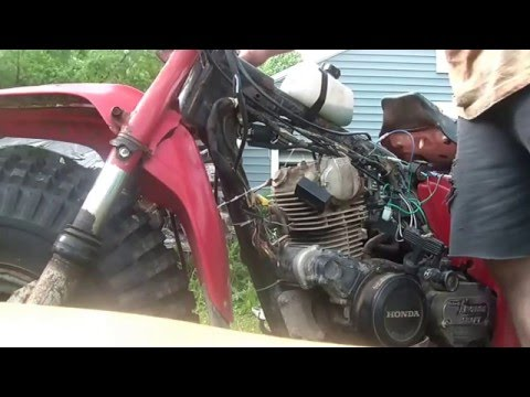 hqdefault 5_30_15, 1984 honda 200es, running on pit bike ignition, youtube 1984 honda 200es wiring diagram at highcare.asia