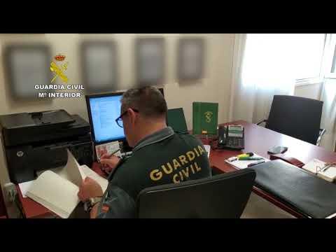 Operación 'Camaleón' de la Guardia Civil de Córdoba