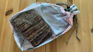 Brotbeutel nähen - kostenloses Schnittmuster