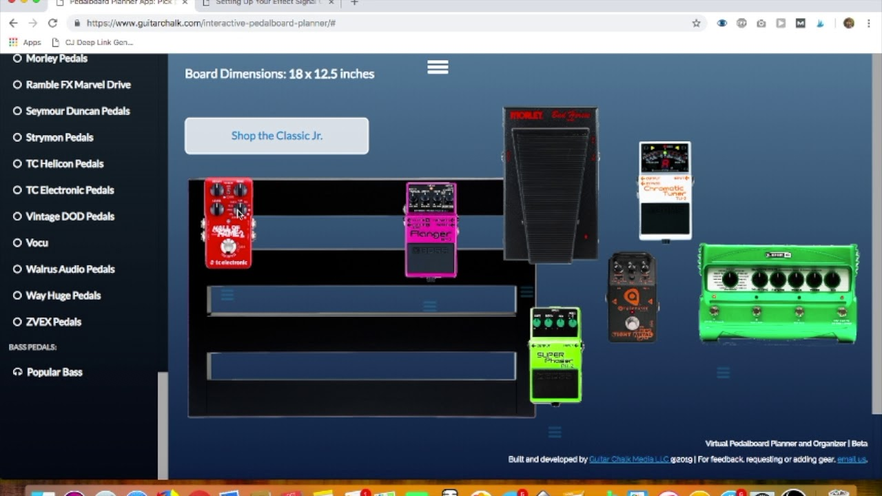 effects chain order and pedal placement using the pedalboard planner app youtube. Black Bedroom Furniture Sets. Home Design Ideas