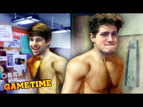IAN AND ANTHONY TAKE A SHOWER! (Gametime w/ Smosh)
