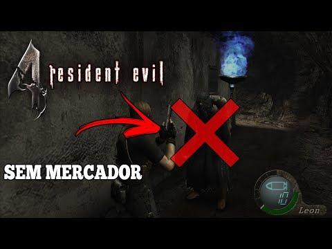 RESIDENT EVIL 4 - DESAFIO SEM MERCADOR!!!
