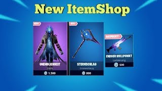 Fortnite Item Shop 25.8.19 I KRASSER NEW SKIN + SPITZHACKE I Fortnite Battle Royale Shop