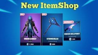 Fortnite Item Shop 25.8.19 I KRASSER NEW SKIN + SPITZHACKE I Fortnite Battle Royale Shop
