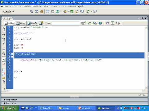 Videotutorial 3 ASP y SQL Server