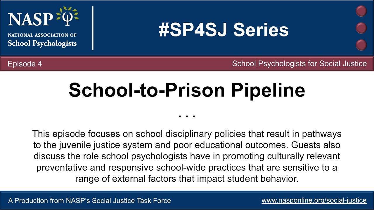 Pipeline To Prison Special Education >> School To Prison Pipeline