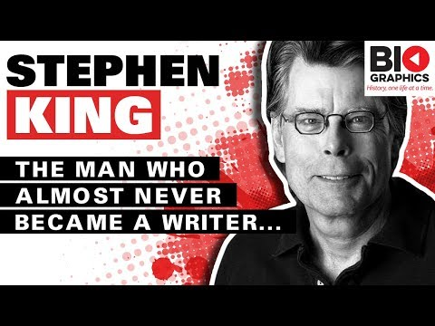 Stephen King: The Man Who Almost Didn't Become a Writer