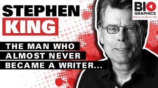 Stephen King Biography: The Man Who Almost Didn't Become a Writer