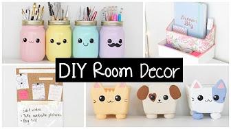 Diy room decor youtube for Room decor organization