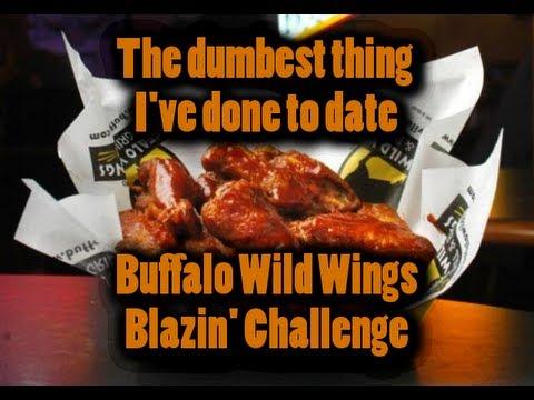Buffalo Wild Wings 12 Blazin Wing Challenge Corpus