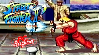 Street Fighter II': Champion Edition playthrough (PC Engine)