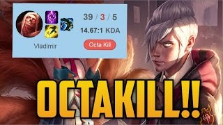 When a Korean Challenger is given VLADIMIR in URF (AN OCTAKILL!!!)