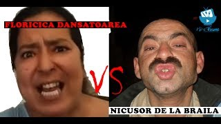 Floricica Dansatoarea vs Nicusor de la Braila - Mi-e Foame! - Invitat Adrian Lungu (02e02)