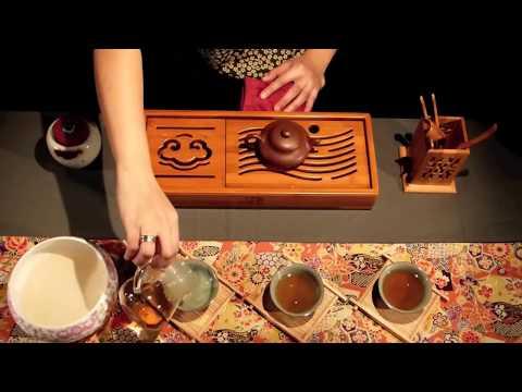 Die Kunst Des Tees - Zubereitung Des Oolong / Felsentees