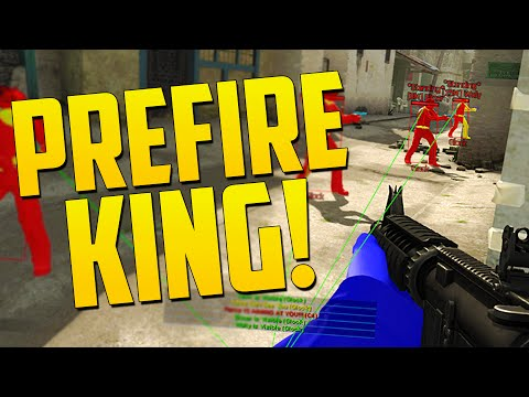 PREFIRE KING! - CS GO Overwatch Funny Moments
