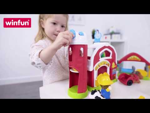 Winfun - Barnyard Fun Playset - 001305