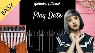 Play Date  - Melanie Martinez   Kalimba Tutorial (Easy) Resimi