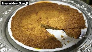 5 DAKİKADA hazırlayıp YOĞURTLA yiyin | Tavada Mısır Ekmeği Tarifi - Naciye Kesici - Yemek Tarifleri