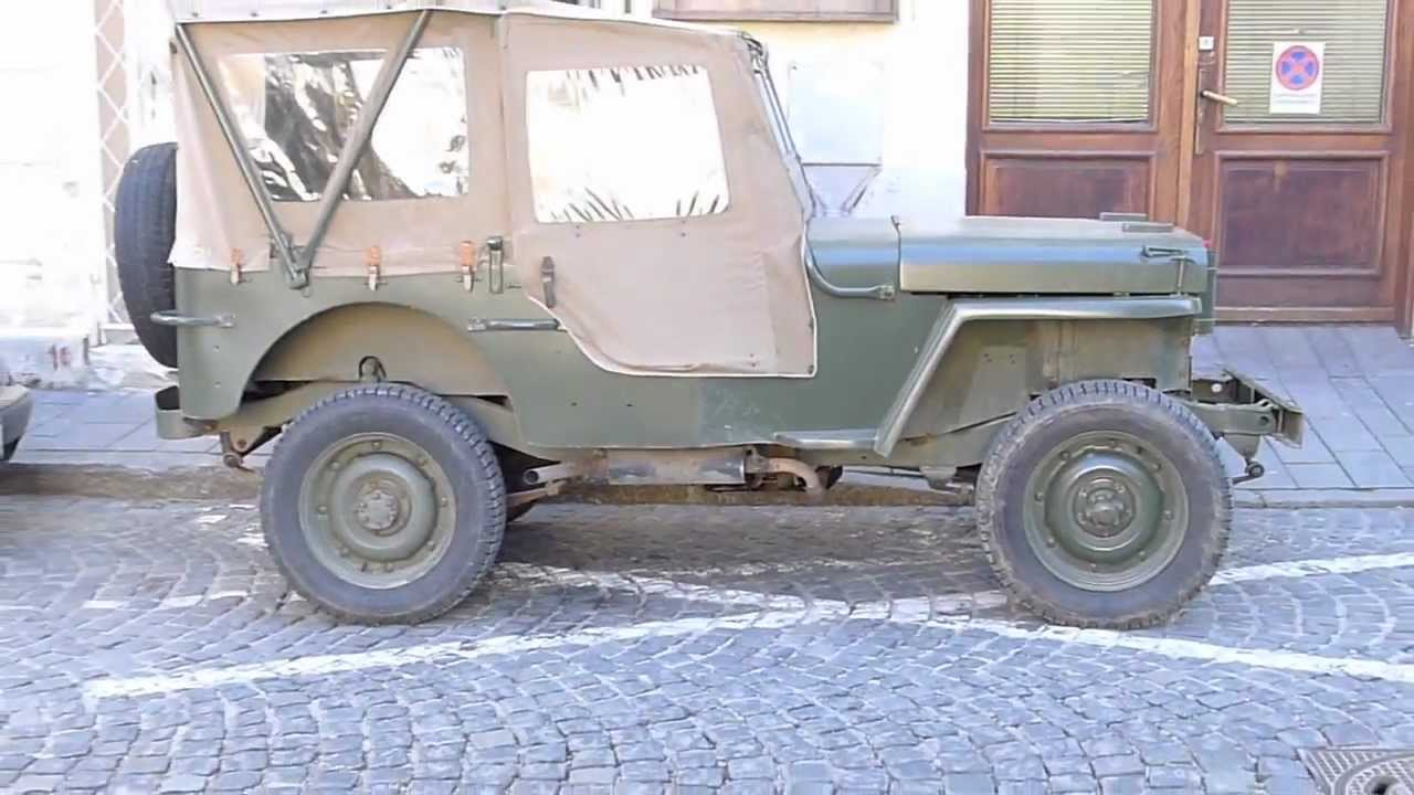 rrontv original willys mb us army jeep truck 1 4 ton 4x4 ford gpw youtube [ 1280 x 720 Pixel ]