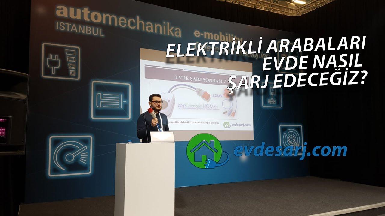 Elektrikli Otomobil Evde Şarj İstasyonu Tanıtım Videosu ...