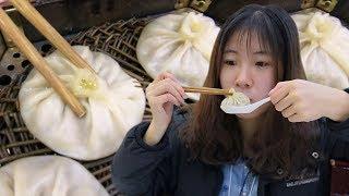 西安老字號的羊肉灌湯包:17元一籠,這是我吃過最騷的包子!