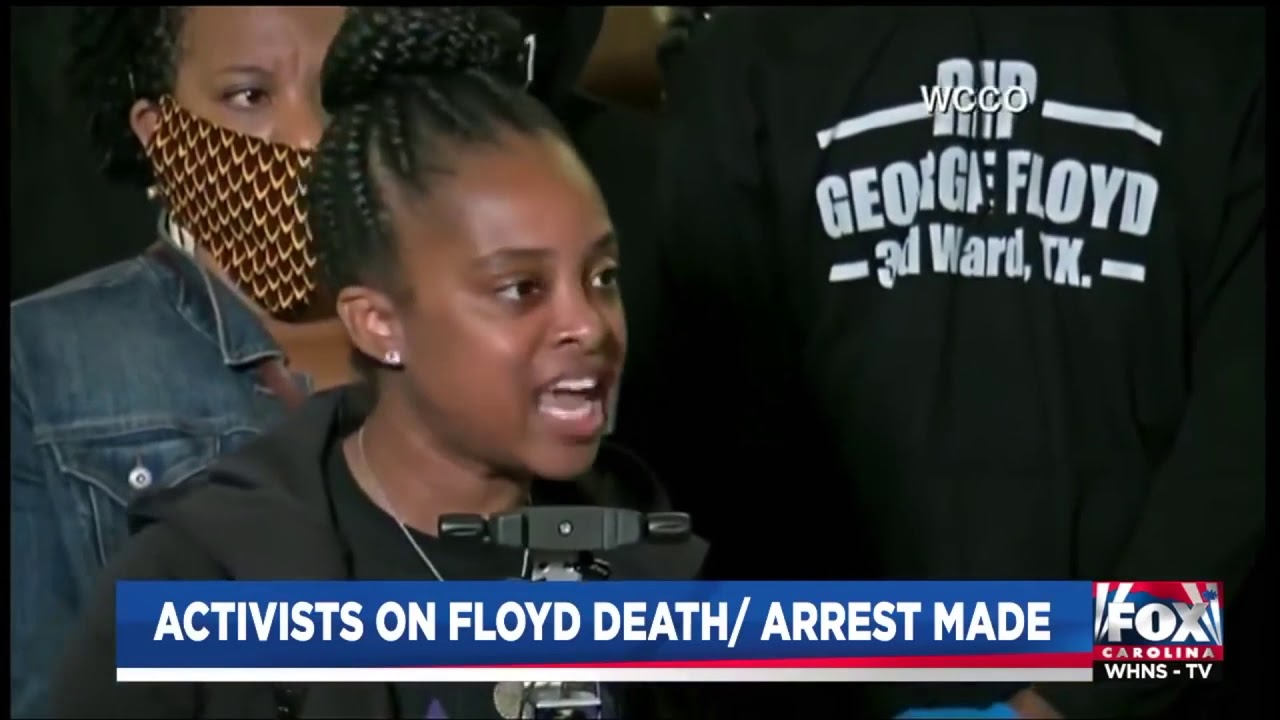 "Tamika Mallory full ""State of Emergency Speech"" at the George floyd presser in  Minneapolis May 29"