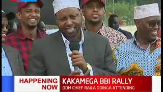 North Eastern leaders give their sentiments on BBI    KAKAMEGA BBI RALLY