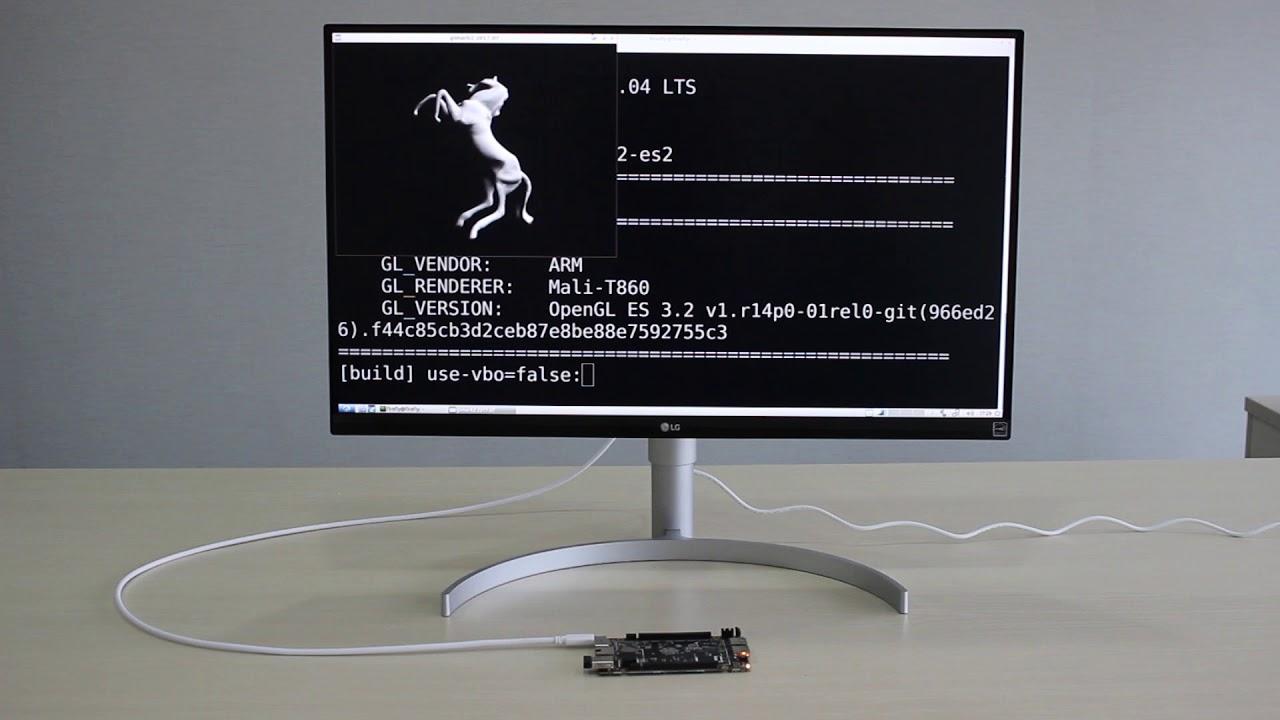 Renegade Elite Showcase: Ubuntu Linux X11 Accelerated OpenGL ES