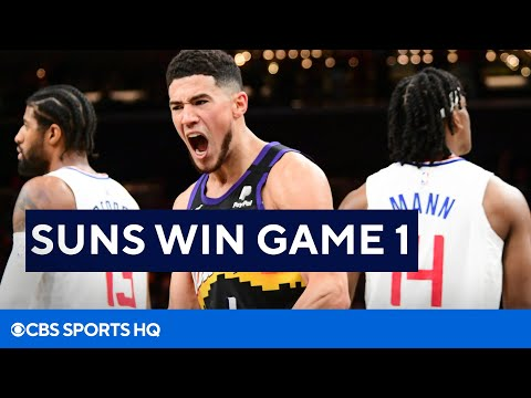 Clippers vs Suns Recap Game 1 Western Conference Finals  CBS Sports HQ