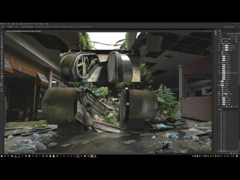 Maciej Kuciara creates video game fan art live - November 10, 2016.
