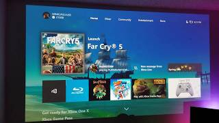 """FAR CRY 5 : Test on 155"""" BenQ 4K HDR Projector - Xbox One X"""