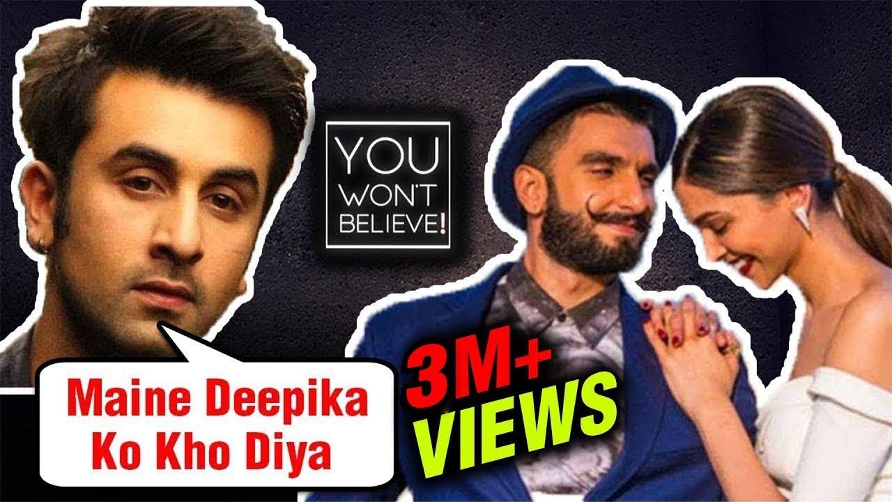 Here's How Ranbir Kapoor LOST Deepika Padukone To Ranveer Singh | You Won't Believe