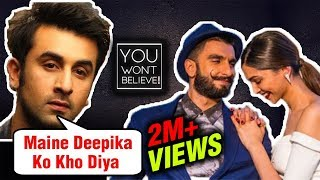 Here39s How Ranbir Kapoor LOST Deepika Padukone To Ranveer Singh  You Won39t Believe