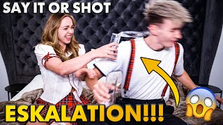 SAY IT OR SHOT ESKALATION!!! 👻💥 | Krass Klassenfahrt