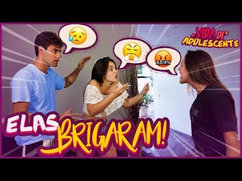 ELAS BRIGARAM!! - VIDA DE ADOLESCENTE #48 [ REZENDE EVIL ]