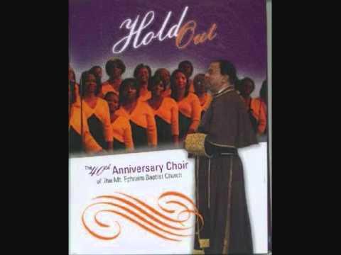 Dr. R.L. White & The Mount Ephraim 40th Anniversary Choir- Let Me Feel Your Holy Power