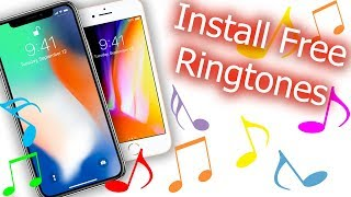 Here is the updated way to install free ringtones for your iphone x, 8, 8 plus, 7 or any other ios device you want download for. this video tuto...